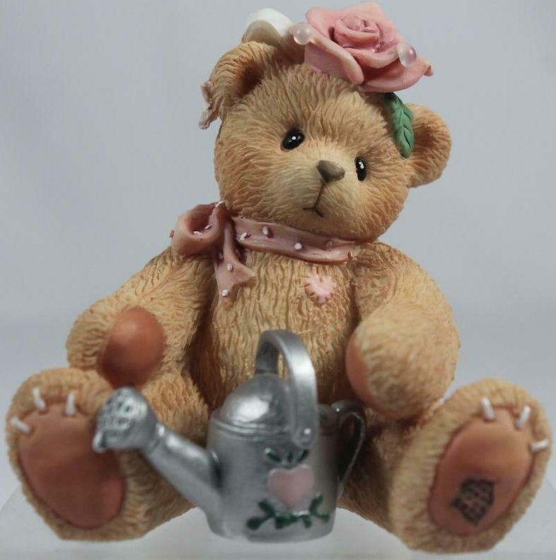 Cherished Teddies 202886 Rose Everythings Coming Up Roses