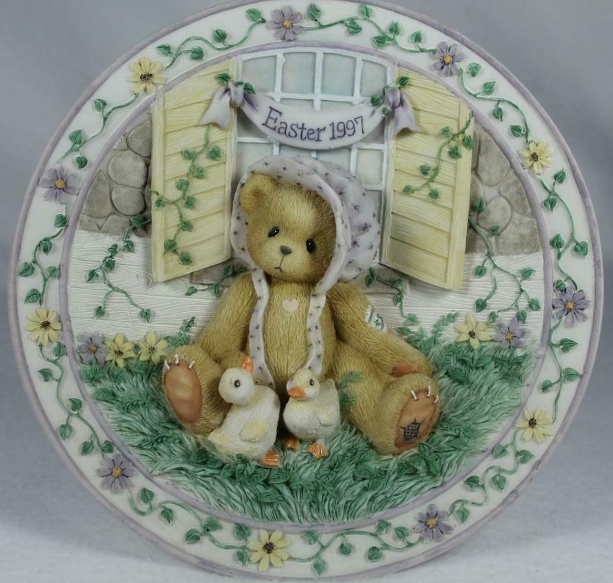 Cherished Teddies 203009 Girl With Chick