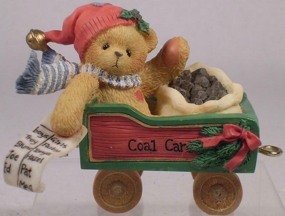 Cherished Teddies 219088 Colin-Railroad Series