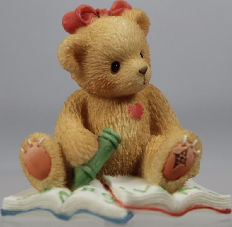 Cherished Teddies 303100 Forgive Me Mini Figurine
