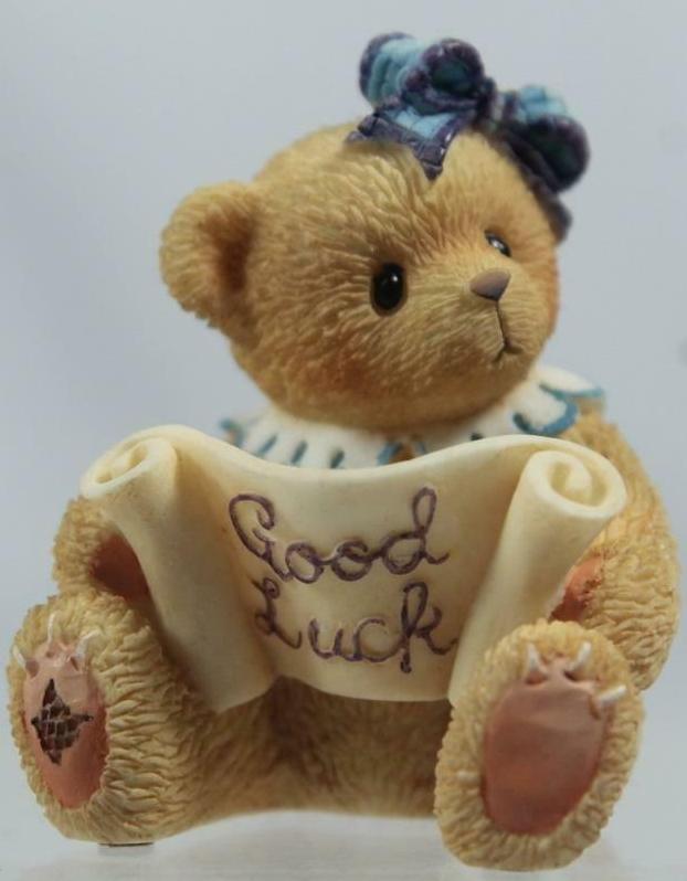 Cherished Teddies 303143 Good Luck