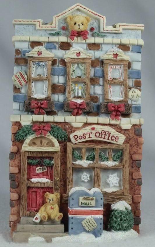 Cherished Teddies 352675 Winter Post Office