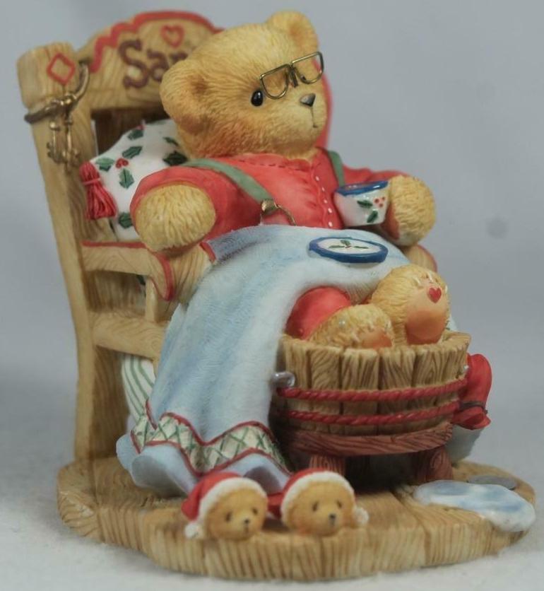 Cherished Teddies 352713 A Little Holiday R & R