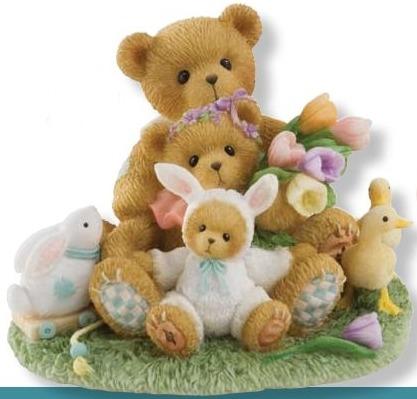 Cherished Teddies 4009176 Friendships Bloom Like Spring Flowers