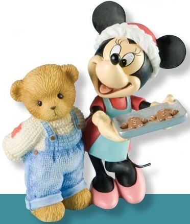 Cherished Teddies 4009184 Baking Up Holiday Magic With Friends