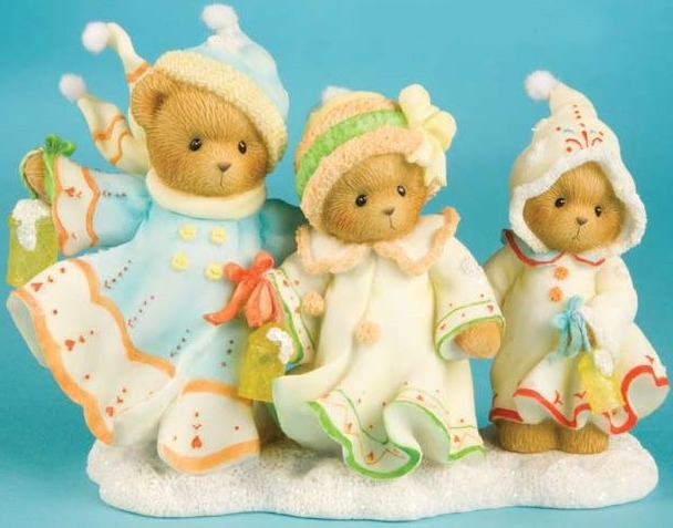 Cherished Teddies 4010080 Let Love & Friendship Be Your Guide