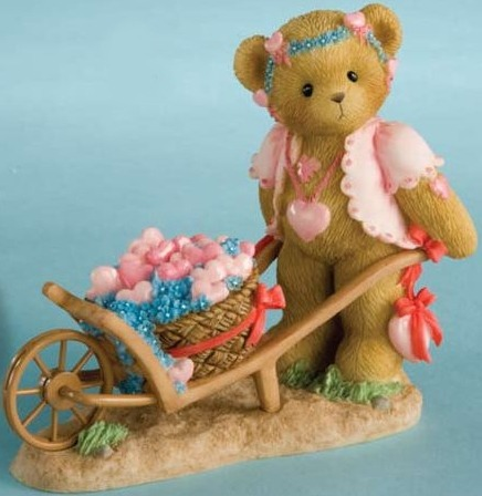 Cherished Teddies 4012273 Delivering All My Love To You