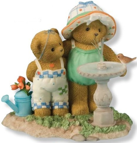Cherished Teddies 4012865 Being With You Is Always Refreshing