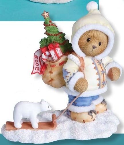 Cherished Teddies 4013419 Bringing Special of The Season