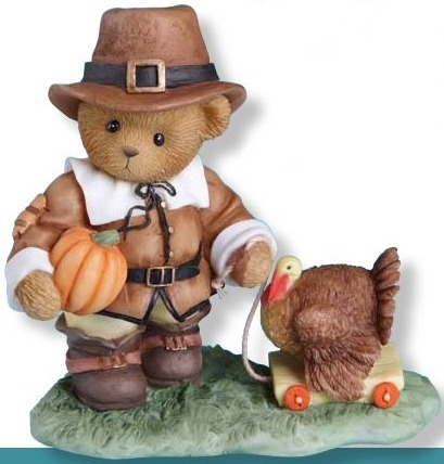 Cherished Teddies 4013422 Be Thankful In All Things