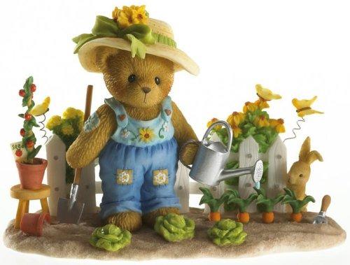 Cherished Teddies 4016838 Gardening With Bunny