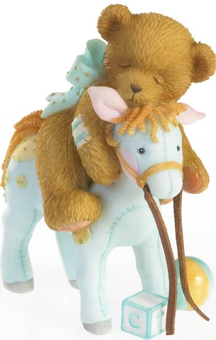 Cherished Teddies 4020562 Giddy Up Dreams Figurine