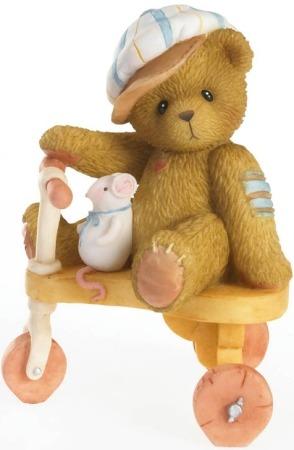 Cherished Teddies 4020564 Easy Rider Figurine