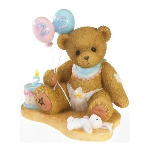 Cherished Teddies 4020573 Age 2 Birthday Figurine