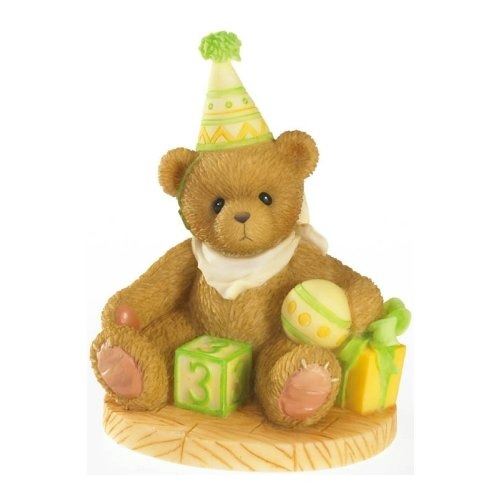 Cherished Teddies 4020574 Age 3 Birthday Figurine