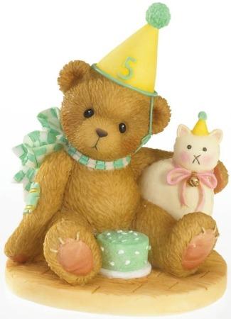 Cherished Teddies 4020576 Age 5 Figurine