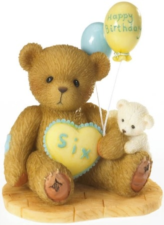 Cherished Teddies 4020577 Age 6 Figurine