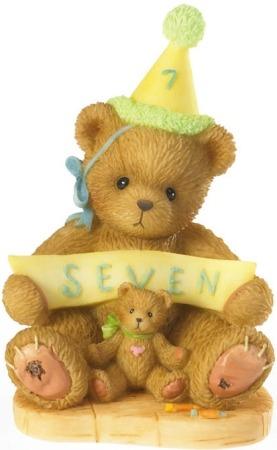 Cherished Teddies 4020578 Age 7 Figurine
