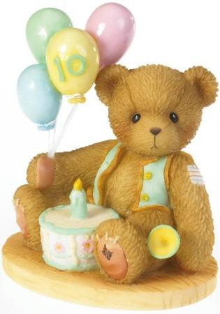Cherished Teddies 4020581 Age 10 Figurine