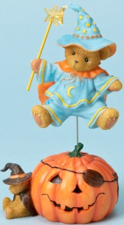 Cherished Teddies 4023729 Bear Dressed as Wizard Figurine