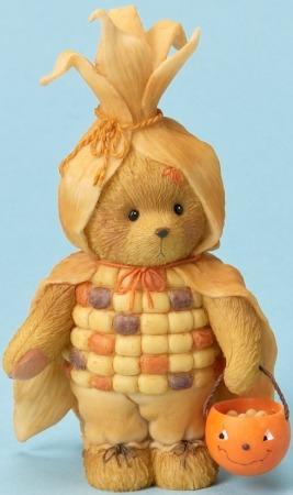 Cherished Teddies 4023730 Bear Dressed as Candy Corn Figurine