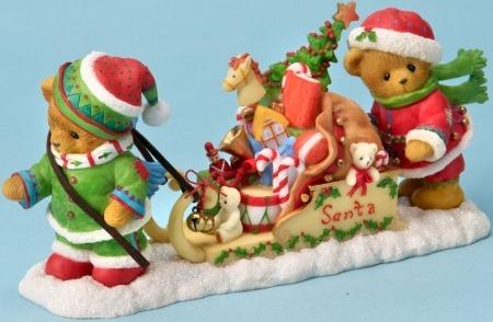 Cherished Teddies 4023736 Bear Dressed as Elves