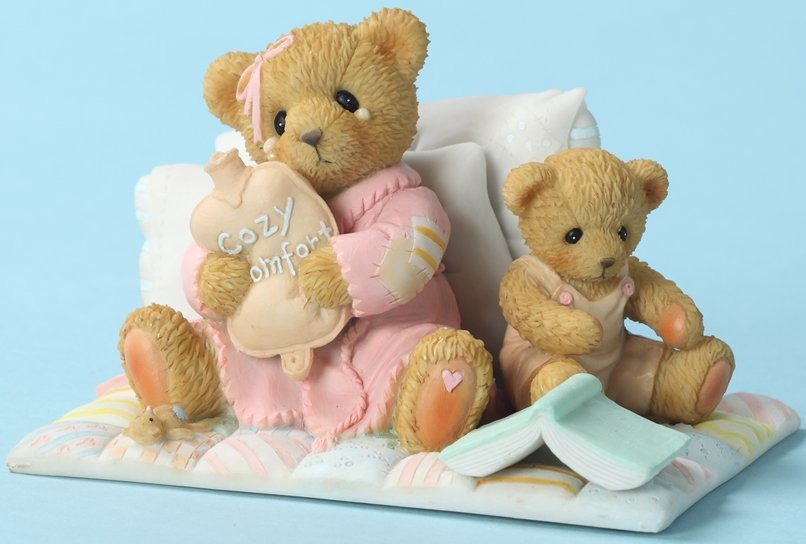 Cherished Teddies 4025781 Get Cozy & Feel Better Soon
