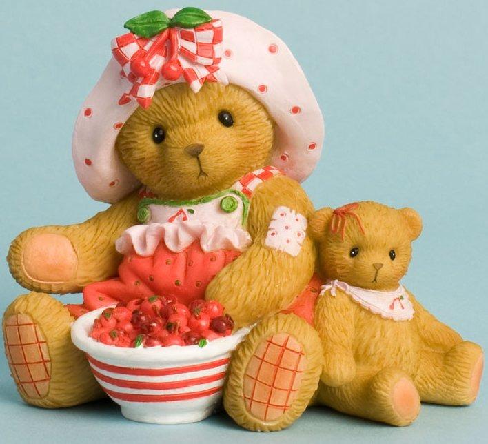 Cherished Teddies 4031670 You Make Life a Bowl of Cherries