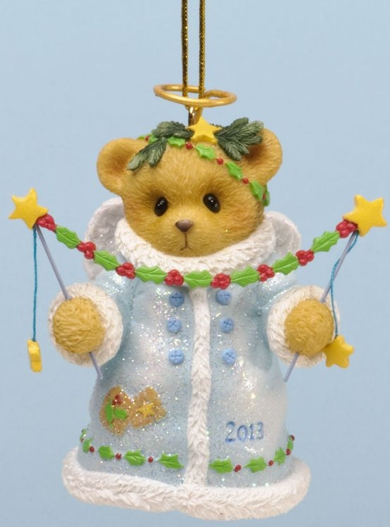 Cherished Teddies 4034599 You Put The Christmas Twinkle In My Eye