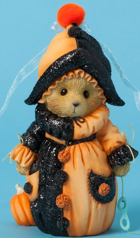 Cherished Teddies 4040450 Bear Figurine Clown Outfit
