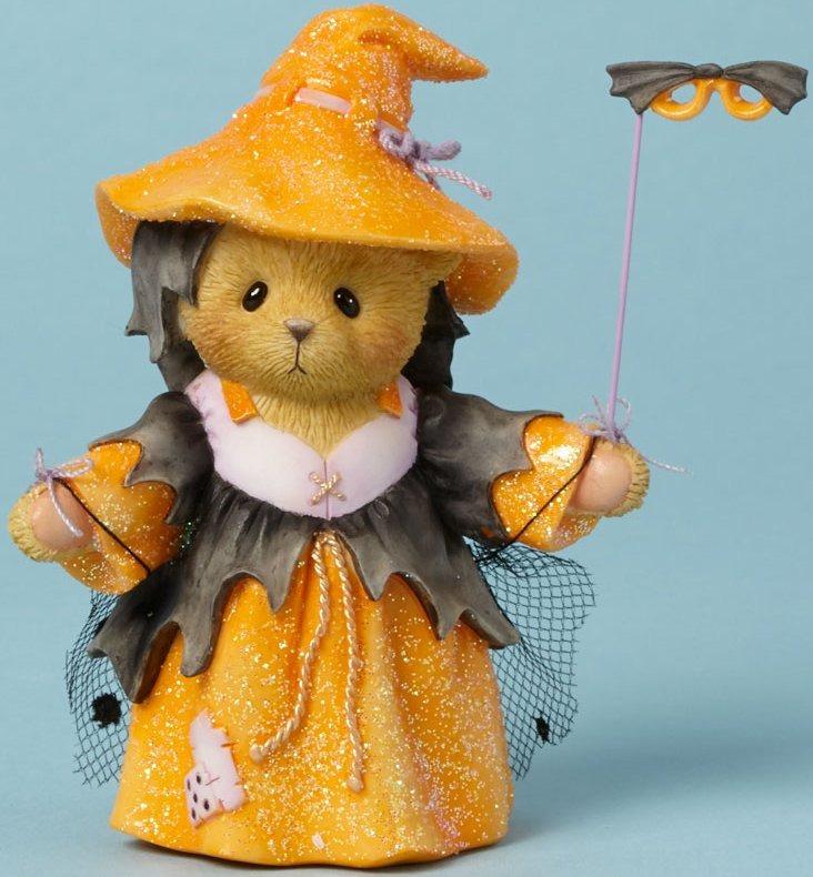 Cherished Teddies 4040451 Bear Figurine Witch Mask