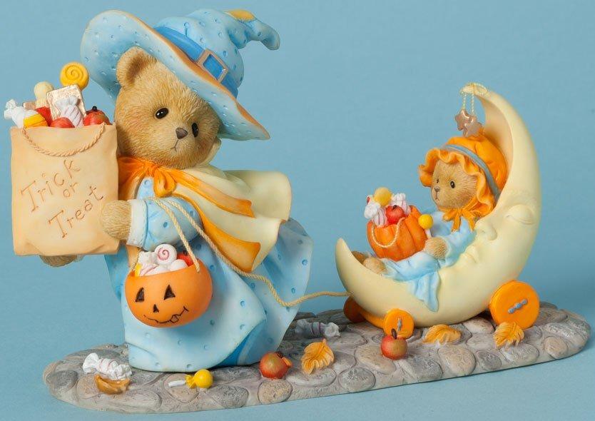 Cherished Teddies 4040453 Witch Trick Treat Bear Figurine