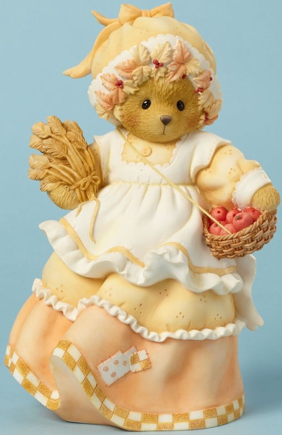 Cherished Teddies 4040456 Holding Basket Tall