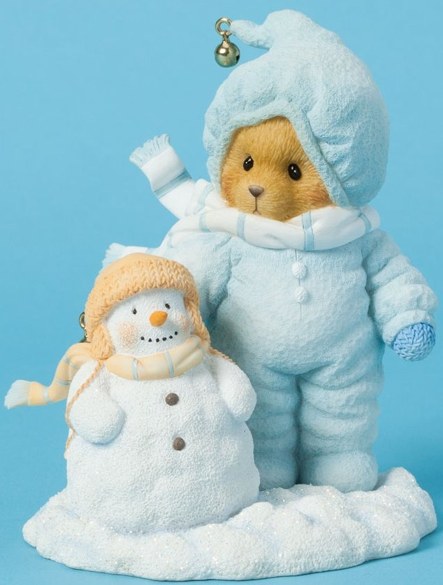 Cherished Teddies 4040465 Bear Snowsuit Snowma