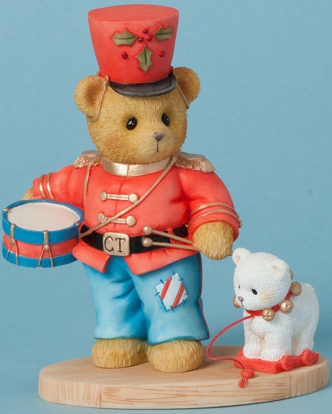 Cherished Teddies 4040466 Bear Toy Soldier