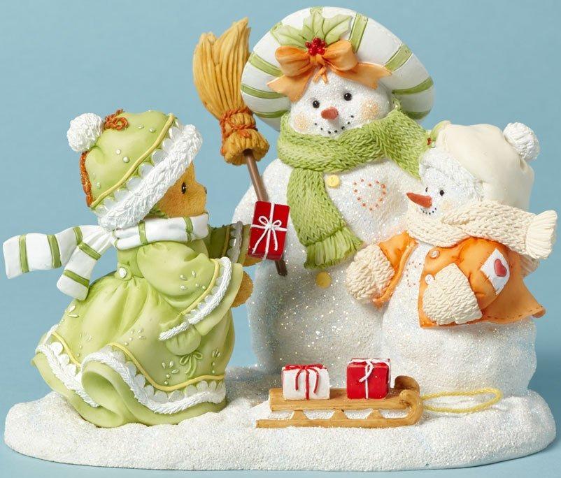 Cherished Teddies 4040469 Bear Snowmen