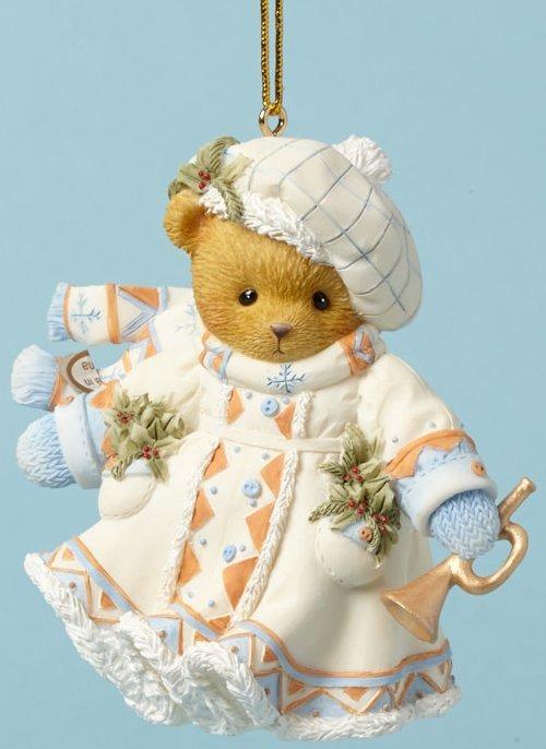 Cherished Teddies 4040474 Ornament Bear Laplander