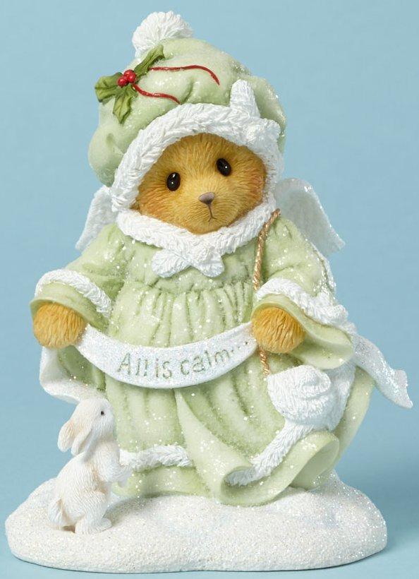Cherished Teddies 4040475 Angel All Is Calm Figurine