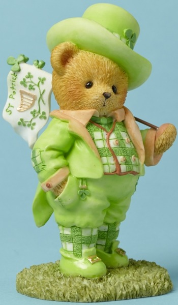 Cherished Teddies 4044688 Bear St Patricks Fla Figurine
