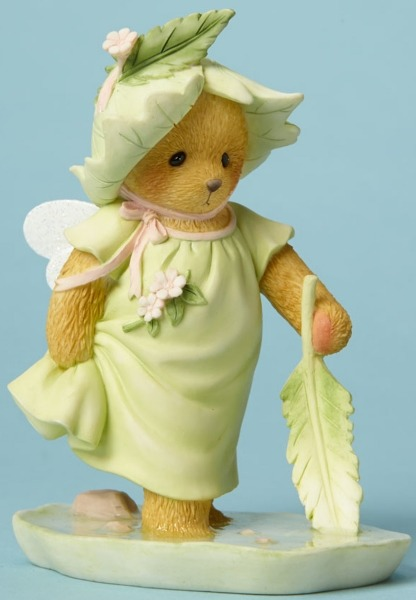 Cherished Teddies 4044689 Bear Fairie Playing Figurine