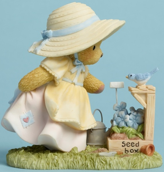 Cherished Teddies 4045932 Bear Watering Seed B Figurine