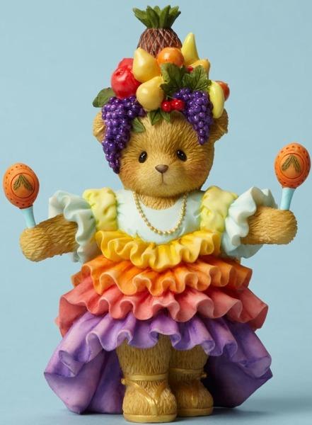 Cherished Teddies 4045994 Bear With Maracas Figurine