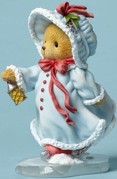 Cherished Teddies 4047374 Bear Ice Skating Figurine