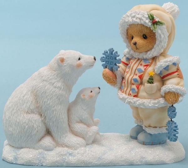 Cherished Teddies 4047389 Bear Eskimo W Polar Figurine