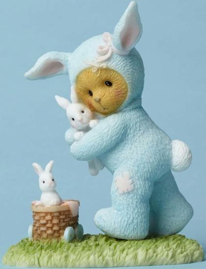 Cherished Teddies 4051039 Bear Dressed Bunny Figurine