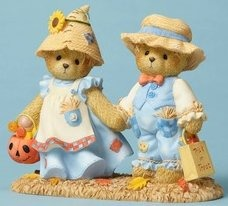 Cherished Teddies 4053446 Dressed Scarecrow Figurine
