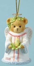 Cherished Teddies 4053451 Angel Candle Dated Ornament