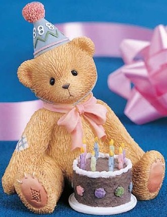 Cherished Teddies 466247 Being 8 Is Really Great 8th Birthday