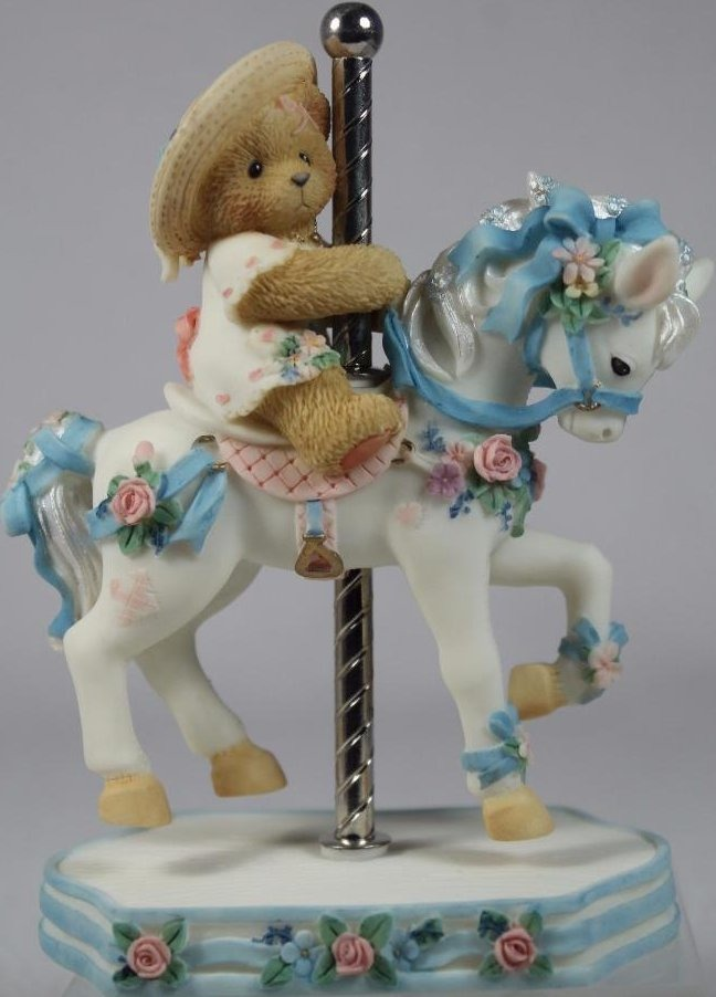 Cherished Teddies 506206 Virginia Its So Merry Going Round With You