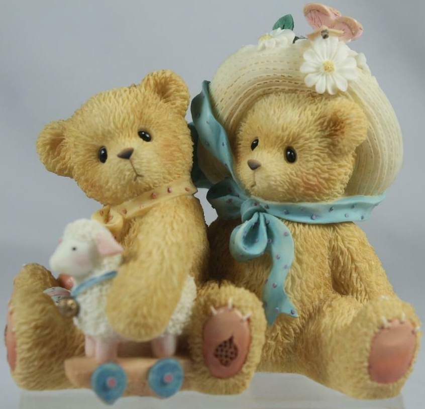 Cherished Teddies 597392 Chelsea And Daisy Old Friends Always Reunion Pc